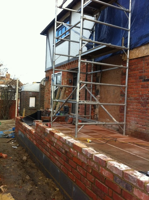 Two Storey Extension in Sevenoaks using reclaimed bricks - 3