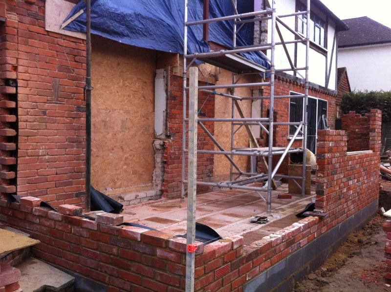 Two Storey Extension in Sevenoaks using reclaimed bricks -  4
