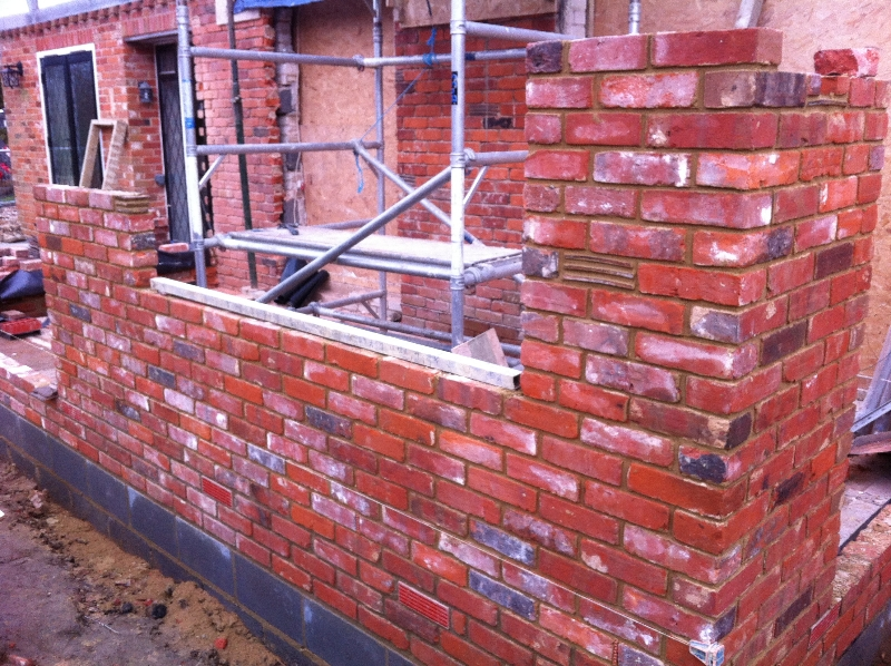 Two Storey Extension in Sevenoaks using reclaimed bricks - 5