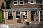 double-garage-conversion-to-new-front-bedroom-with-ensuite-shower-chislehurst-after