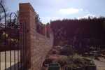 Storm damaged brick wall & steps rebuild, Newington - 4