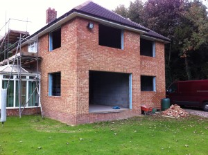 2 storey extension Wye