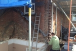 toothing-out-brickwork